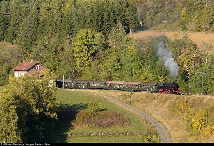 RailPictures.Net Photo: FK 262 WTB Wutachtalbahn Steam 2-8-2 at Epfenhofen, Germany by Reinhard Reiss