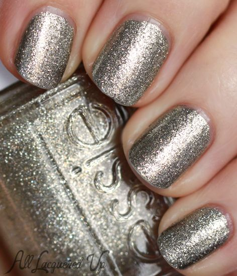 Essie Metallic Gold Nail Polish: 17 Best Images About Glitter /foil Nails On Pinterest