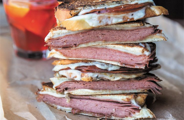 This sandwich is irresistible.