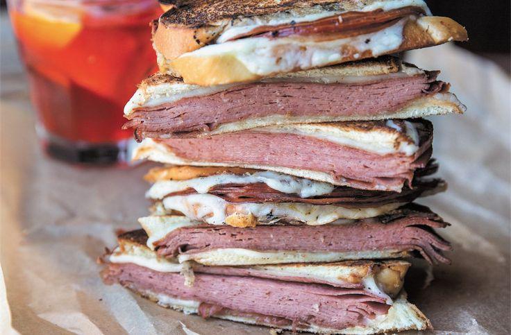 Fried Mortadella Sandwich  ************* This sandwich is irresistible.