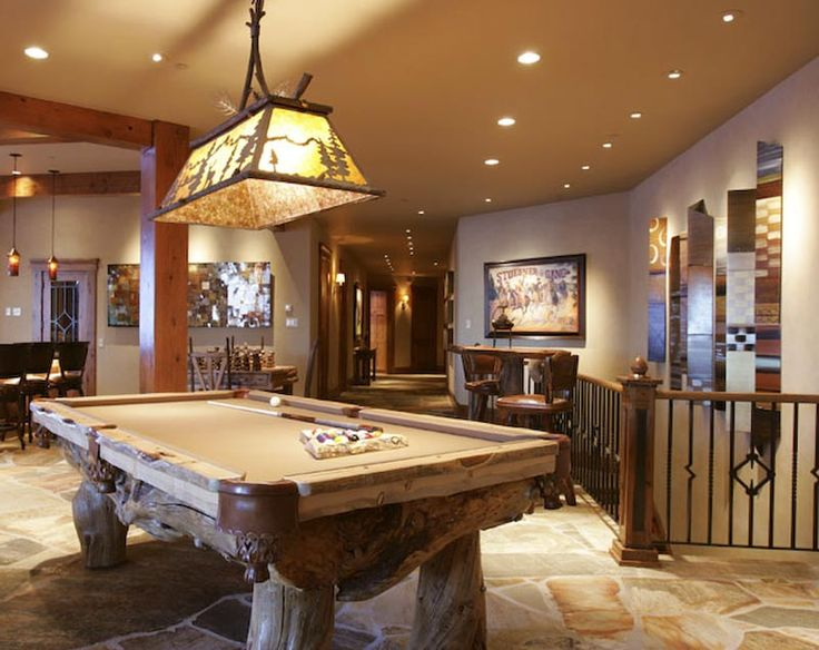 Loveee This Room And Really Diggin The Pool Table Dream