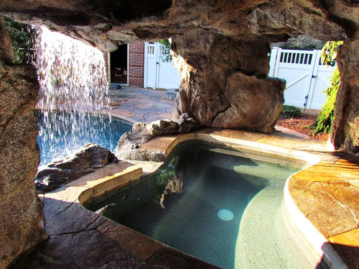 Outdoor Shower Ideas River Rocks