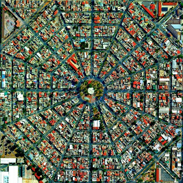 Mexico City Octagon | FastMail | photos from space/almost ...
