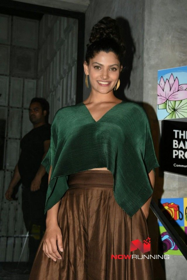 Saiyami Kher grace the birthday bash of Filmfare's editor Jitesh Pillai