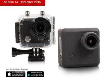 """Aldi-Süd: Actioncam Maginon AC-800 W für 99,99 Euro http://www.discountfan.de/artikel/technik_und_haushalt/actioncam-maginon-ac-800-w-fuer-99-99-euro.php Mit der """"Maginon AC-800 W"""" ist bei Aldi-Süd ab dem 14. Dezember 2015 eine Actioncam zum Schnäppchenpreis von 99,99 Euro zu haben. Für das wasserdichte Modell sprechen unter anderem die dreijährige Garantie und das umfangreiche Zubehör. Discountfan.de listet technischen Details auf und... #Actioncam, #Ma"""