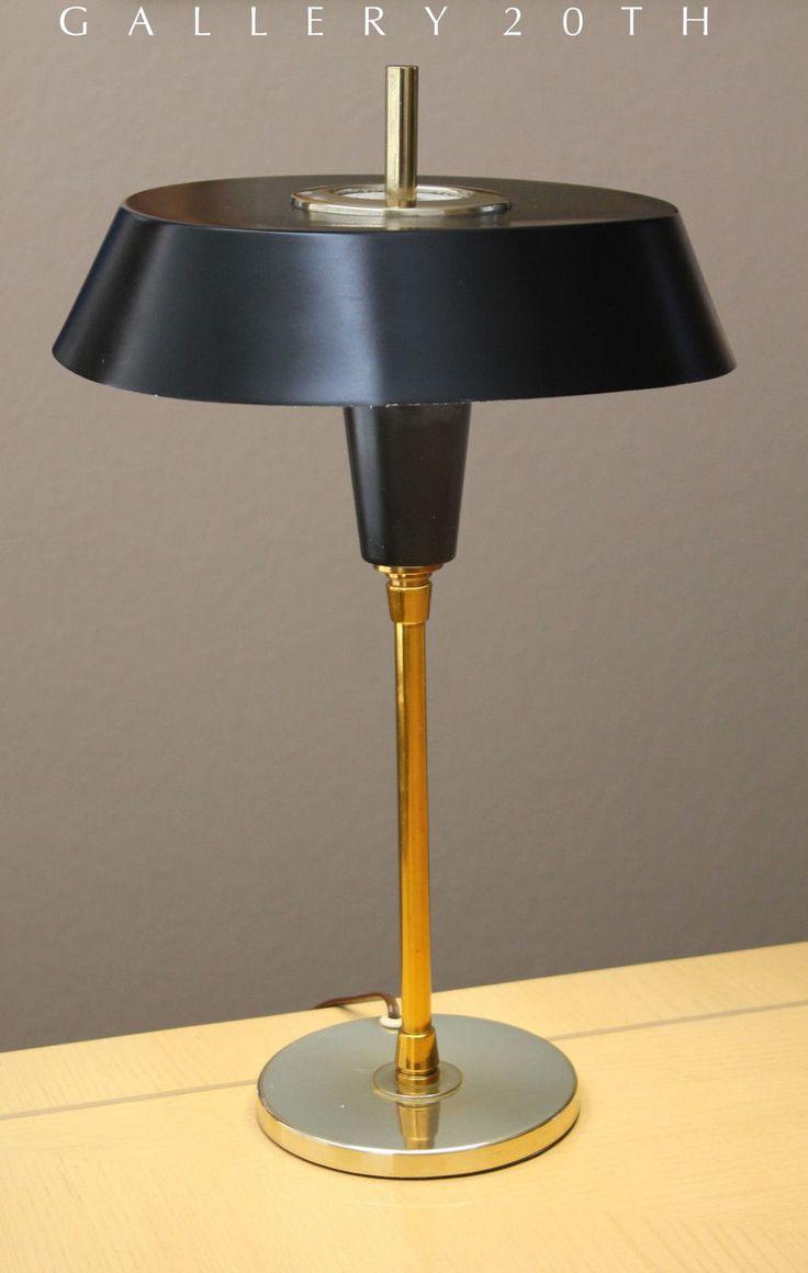 Rare mid century modern nessen desk lamp lightolier laurel for Eames lampe