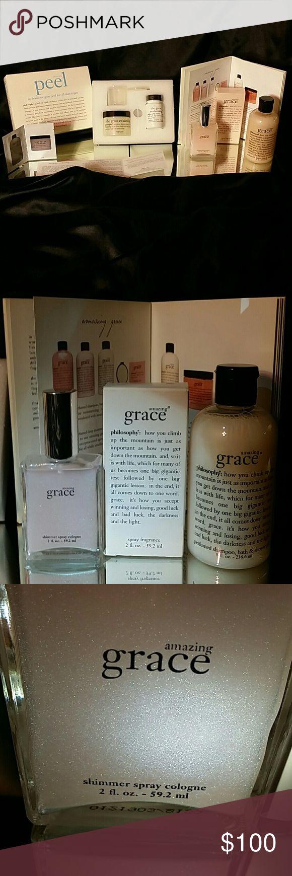 mas de 25 ideas increibles sobre peeling duschgel en pinterest 7 pc philosophy amazing grace set oxygen kit nwt