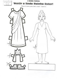 Ministério Infantil Crianças para Cristo: Atividades da História Bíblica da Rainha Ester