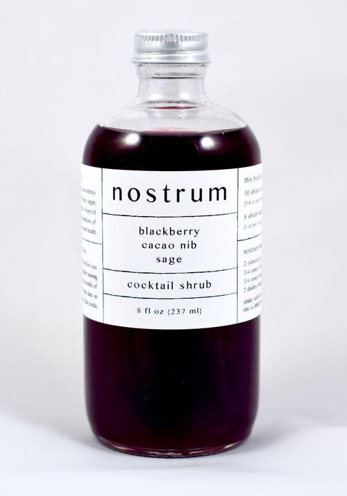 Nostrum cocktail shrub
