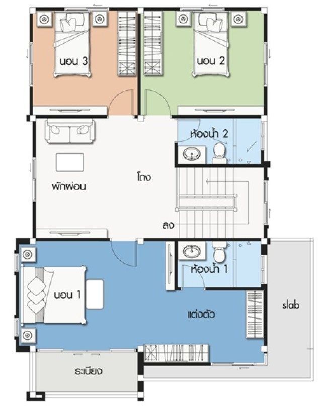 House Design Plan 9x12 5m With 4 Bedrooms Home Ideassearch Pool House Plans Building Plans House Shed House Plans