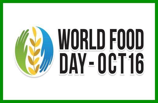 Celebrating World Food Day..
