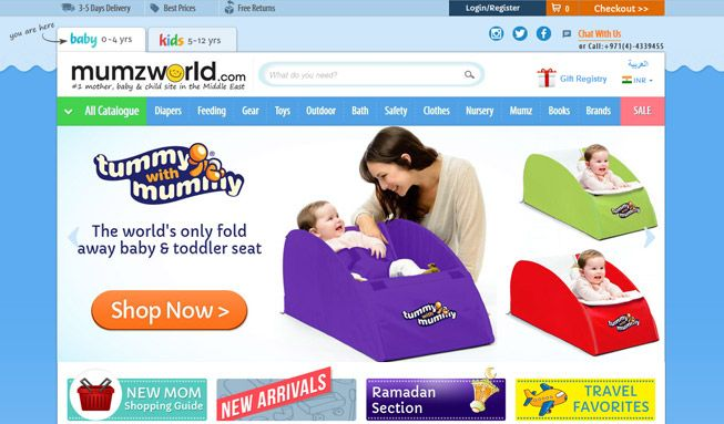 We're honoured to be a part of Mumzworld's success story. We've developed 4 stores in 2 languages, customized extensions & features, & provide IT managed services for this marketplace winner. Read the full case study http://www.embitel.com/ecommerce-casestudies/mumzworld