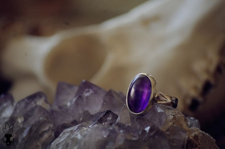 Sadir Jewelry on facebook. Sterling silver and amethyst