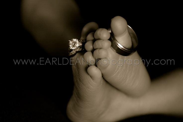 Foot, Rings, Wedding Rings, Baby, Newborn