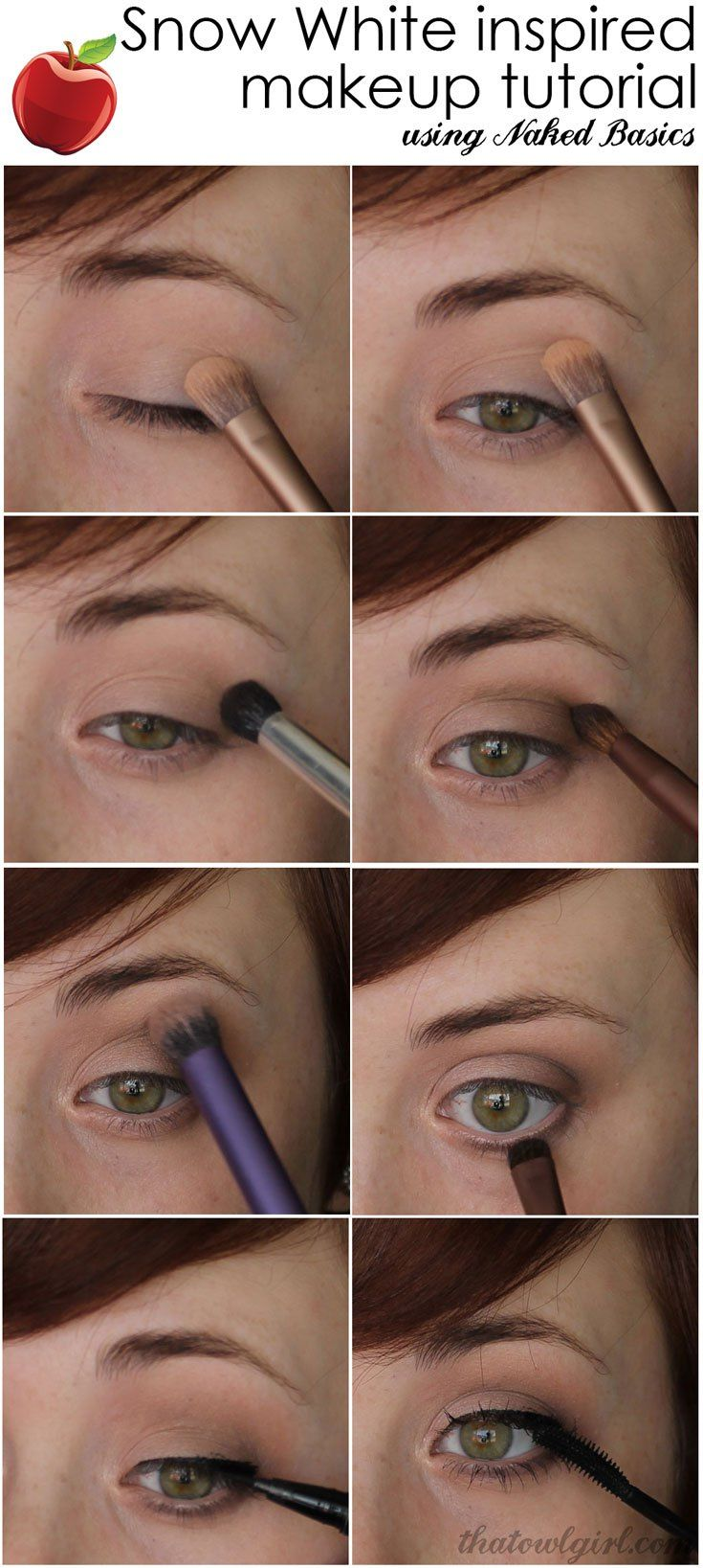 Mary Margaret Makeup Tutorial. Once Upon A Time: Snow
