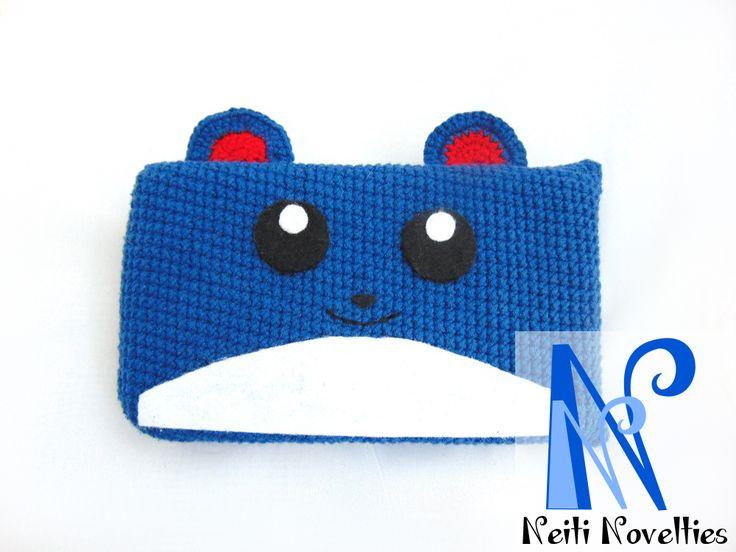 Nintendo 3DS crochet Marill case :)