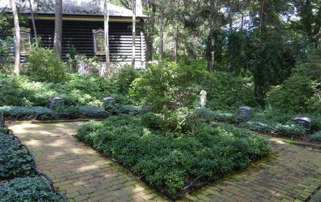 Formal Shade Garden Hillwood Estate The Landscape