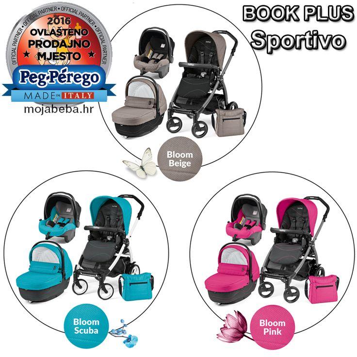 Ovo su novi Sportivo dezeni Peg Perego Book Plus dječjih kolica 3u1