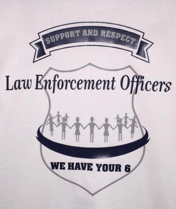 A personal favorite from my Etsy shop https://www.etsy.com/listing/461944812/law-enforcement-support-we-have-your-6