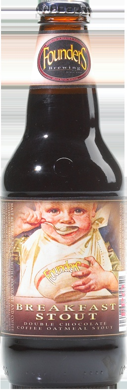 Founders Breakfast Stout is a decadent treat with chocolate, coffee, and oatmeal. A nice hardy seasonal offering to be enjoyed just about anytime of day.