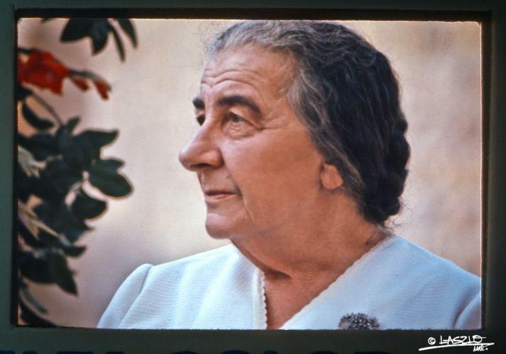 LaszloMontreal.com - (c)GOLDA MEIR, JERUSALEM 1972