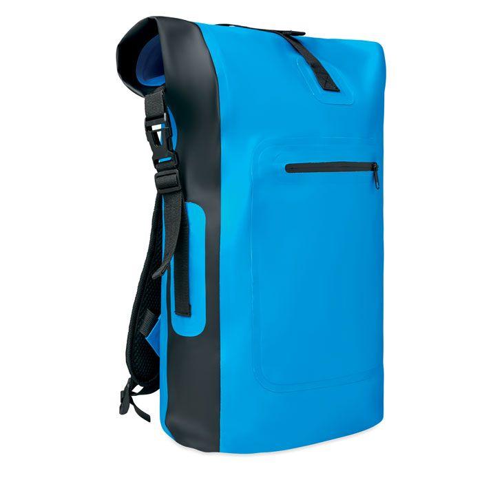 aa32ea823d8 Waterdichte rugzak van tarpauline met een hoofdvak. Inhoud 20-25 liter