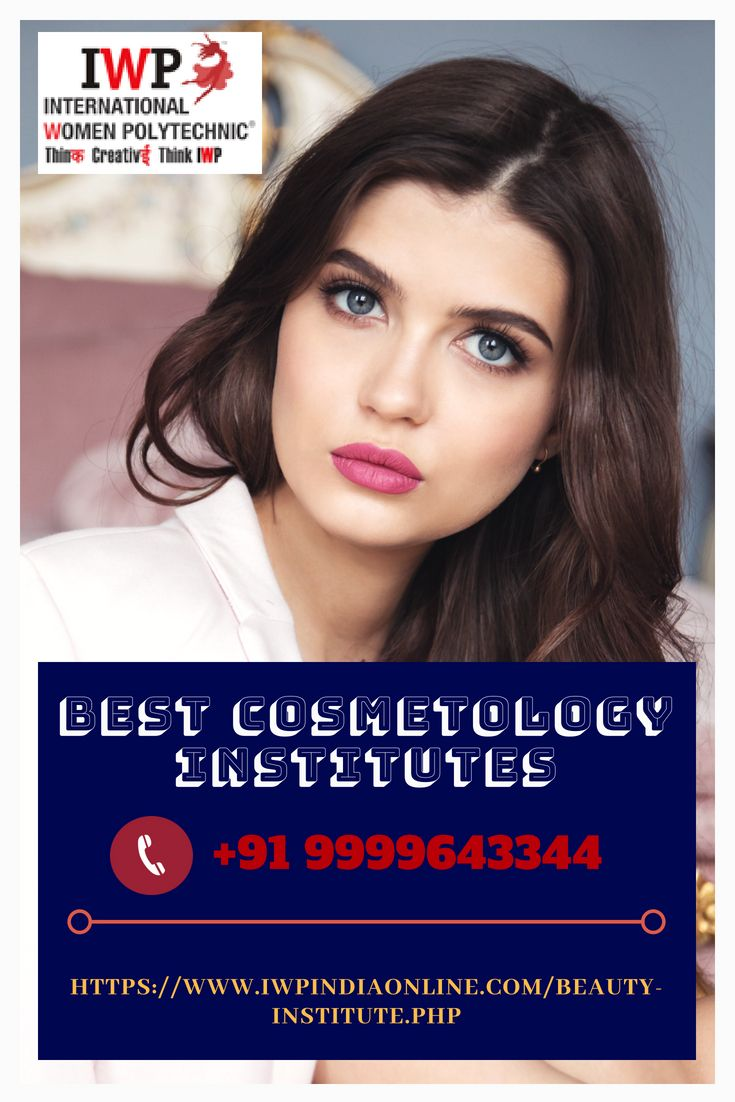 Best Cosmetology Institutes IWP is India's Best Cosmetology