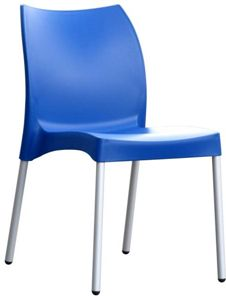 Restaurant Chairs - Blue Vita Chair - #Restaurant #Chairs #OutdoorChairs #Indoor Chairs http://www.hoskit.com.au/Furniture/Restaurant-Chair/Vita-Chair/