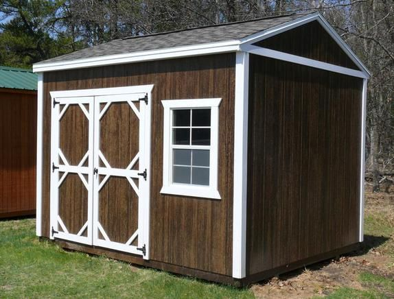 Grandview Buildings 10x12 Garden Shed Mission Brown
