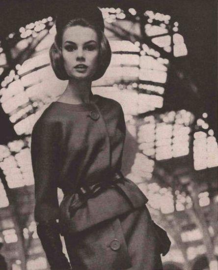 Первая фотосессия Джин Шримптон для журнала Vogue, 1962 год Jean Shrimpton; род. 7 ноября 1942