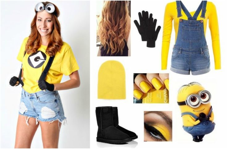 die besten 25 minions verkleidung ideen auf pinterest minion kost me minions kost m und diy. Black Bedroom Furniture Sets. Home Design Ideas