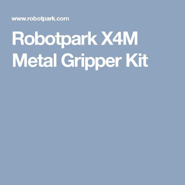Robotpark X4M Metal Gripper Kit