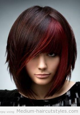 Best 25+ Edgy medium haircuts ideas on Pinterest   Edgy bob ...