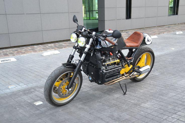 Bmw K Cafe Racer By Zweiger Bikes Pinterest Bmw Bmw