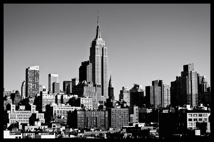 Timeless - Empire State Building and Midtown Skyscrapers of the New York City Skyline