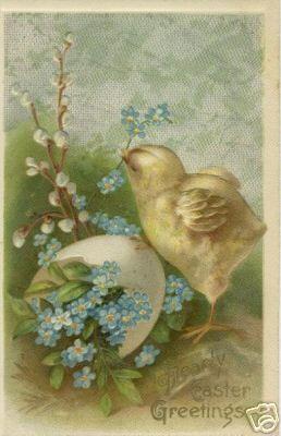 vintage Easter: Easter Postcards, Sherri Vintage, Easter Cards, Vintage Easter, Easter So, Vintage Posts Cards, Easter Eggs, Happy Easter, Easter Greeting