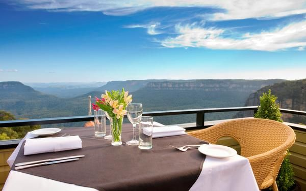 Stunning Views of the Blue Mountains at Echoes Resort- Australia