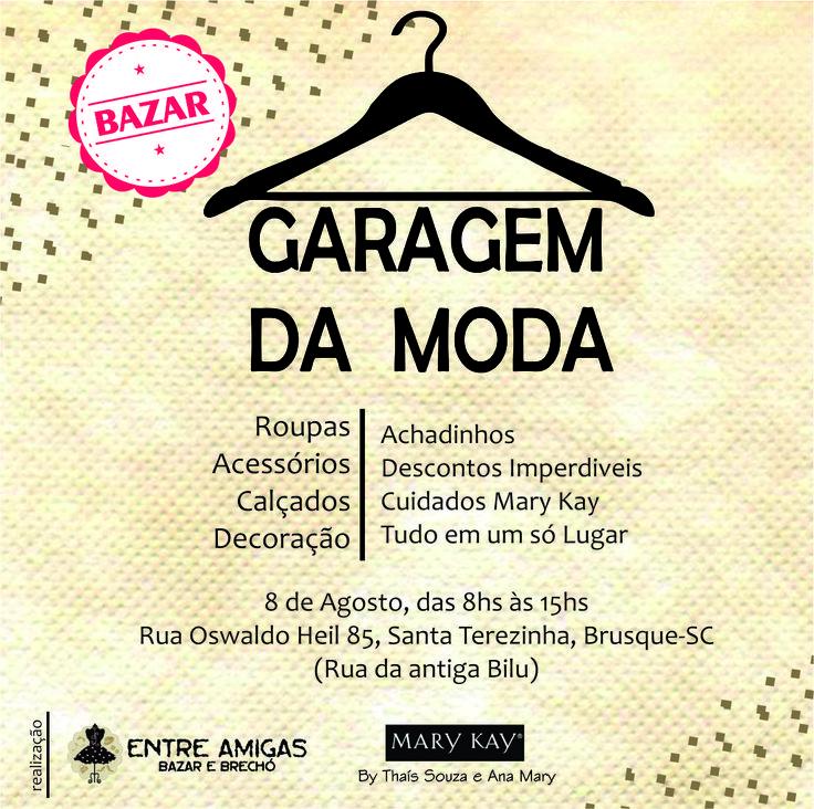 #modagaragem #Marykay #parceria #Brechó #entreamigas