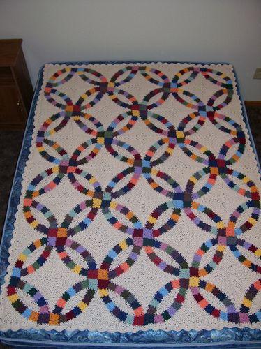 patterns library wedding rings blanket