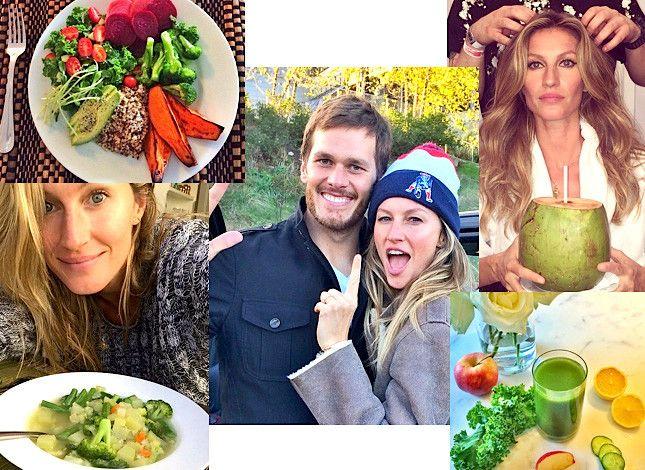 Tom Brady And Gisele Bundchen's Diet Is 80% Vegetarian