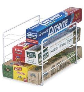 Nata disorganizzata: Come organizzare: organizzare alluminio, carta forno, pellicola