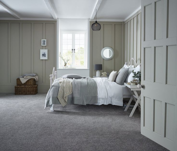 Bedroom Carpets. The new  easy clean luxury carpet Highland Saxony range offers a wide choice of tri colour non fade heather colours which are bleach cleanable 13 best Bedroom Carpets images on Pinterest Carpet Handle and