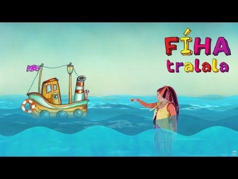 FÍHA tralala - Cvičíme od mala - KVAPI KVAP - YouTube