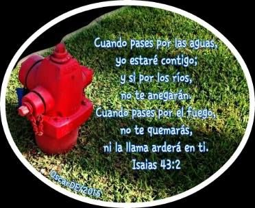Isaias 43:2 Picture By OscarDE