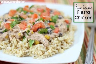 Slow Cooker Fiesta Chicken | Yummy | Pinterest