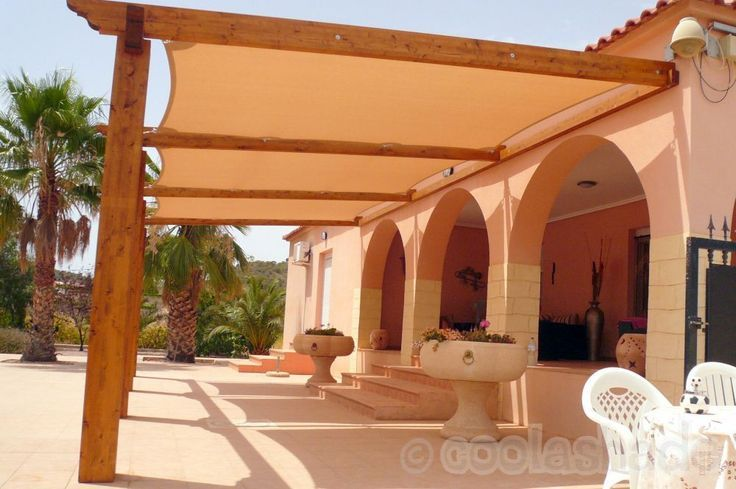 Wooden Frame For Shade Sail Google Search Porch