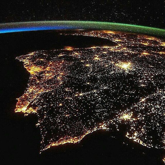 Portugal from space!