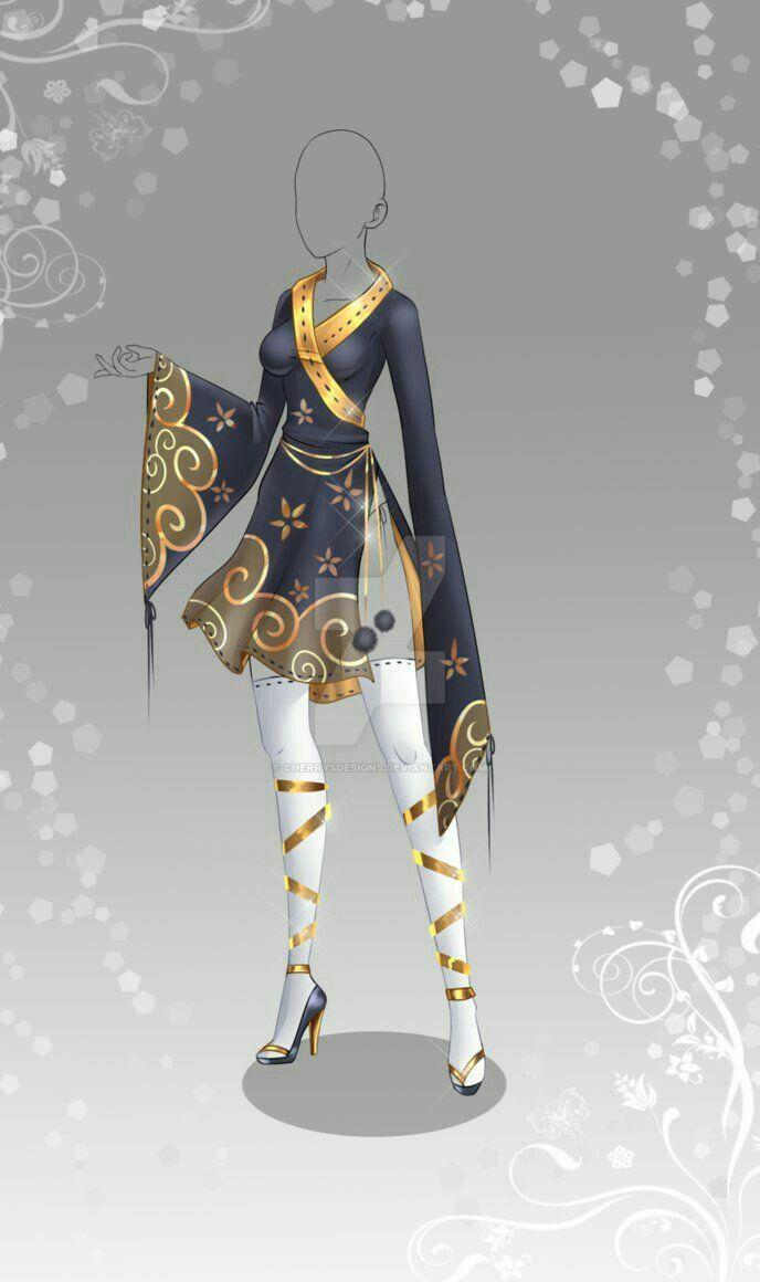 Pin de Belle Daisy2 en Dress Outfits | Anime ropa, Bocetos ...
