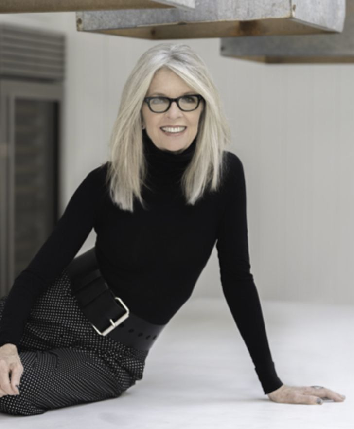 Diane Keaton Aging Gracefully Admire Inspired Wurdevoll Altern Graue Frisuren Modeideen