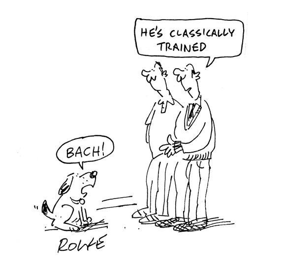 Bach Dog Name